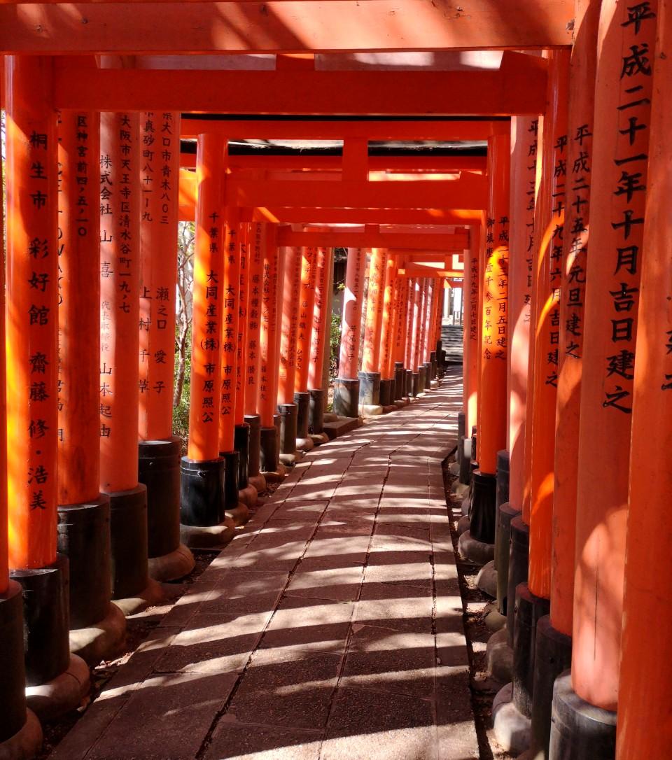 Que ver en Kioto Fushimi Inari