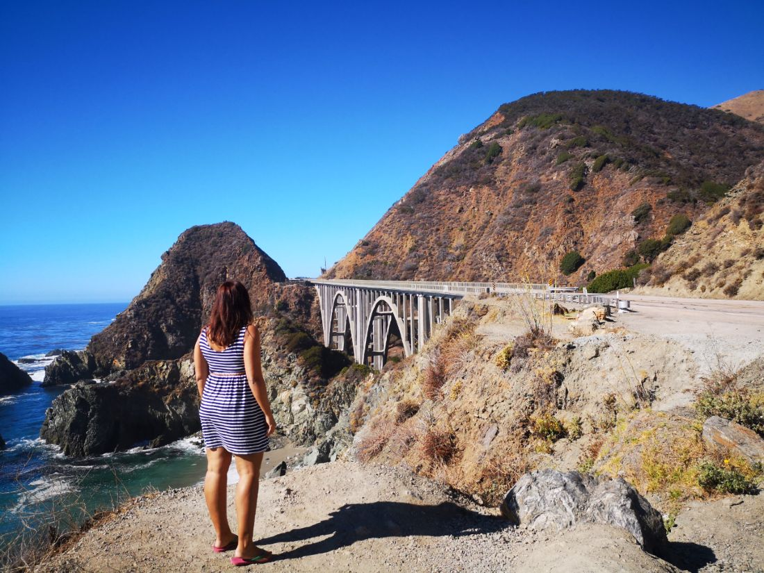 Ruta por la Pacific Coast Highwayn Wonderland