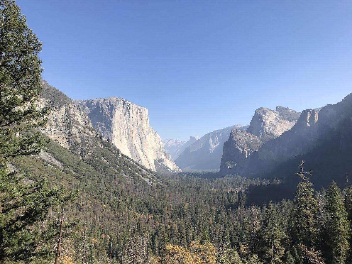 Visitar el Parque Natural de Yosemite