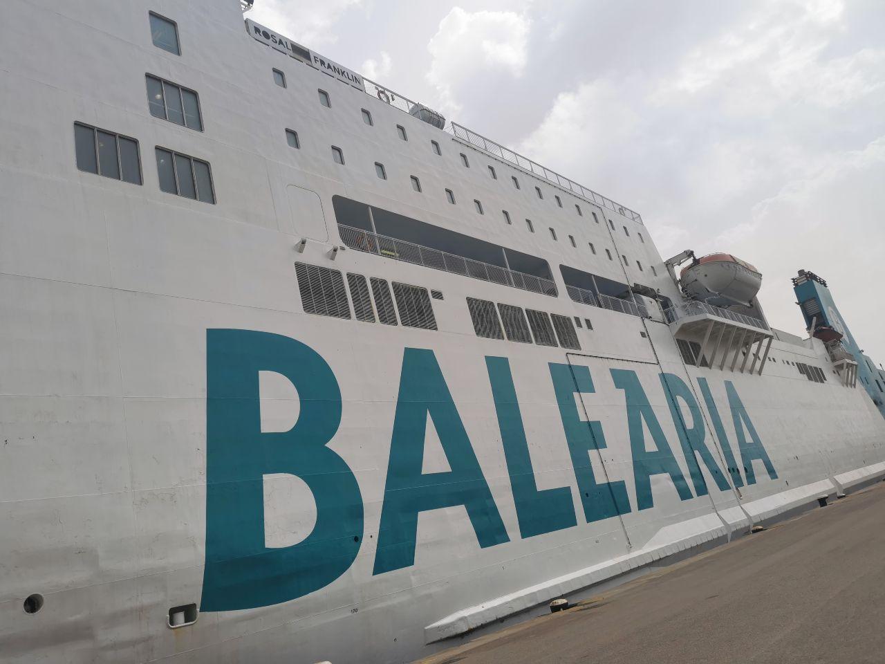 Viajar Mallorca ferry Baleària